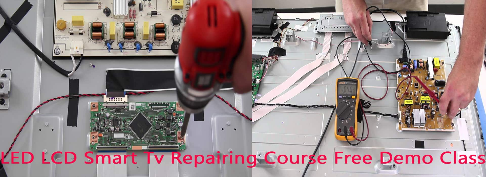 Led Lcd Smart Tv Repairing Course